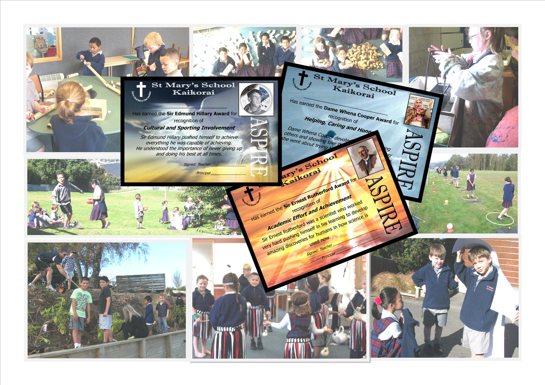 St Mary's Montage - school events 2012