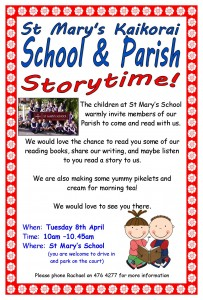 School and Parish Storytime